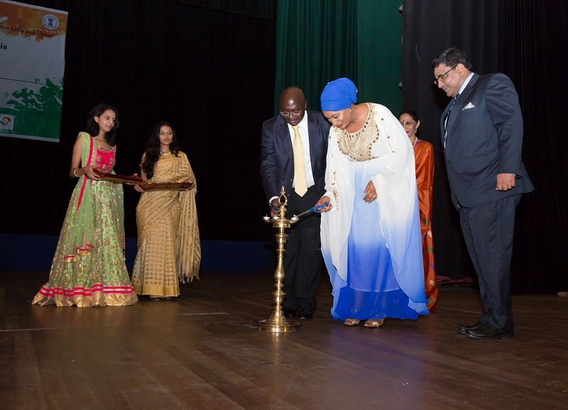 Press Release Festival of India quotMaitriquot Inaugurated in Ghana