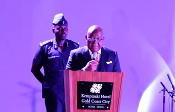 Speech of Rt. Hon. Prof. Aaron Mike Oquaye, Speaker of Parliament of Ghana at the Food Festival of India