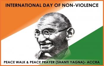 Peace Walk amp Shanti Yagna  Accra