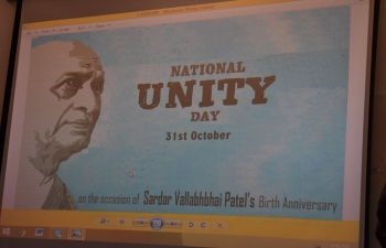 Celebrated 142nd Birth Anniversary of Sardar Vallabhbhai Patel on 31st October 2017