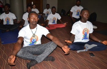 5th International Day of Yoga in Sierra Leone