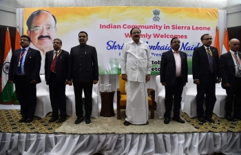 VVIP visit of Hon'ble Vice President of India H,E, M. Venkaiah Naidu to Sierra Leone from 12 to 14 October, 2019. During the visit Hon'ble Vice President called on Hon'ble President of Republic of Sierra Leone and six MoUs/Agreements/Protocol were signed between Government of Sierra Leone and Government of India