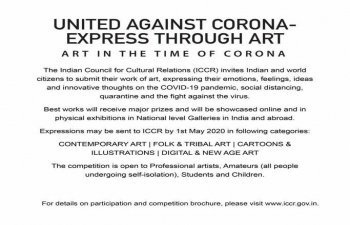 Art Competition-United against corona-Express through Art