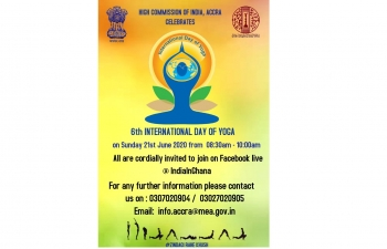 Celebration of 6th International Day of Yoga