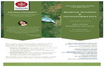 Nalanda University Online Short Term Course on Remote Sensing & Genoinformatics