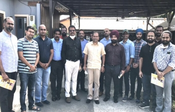 High Commissioner interacted with members of Indian Community in Takoradi on 12 September, 2020