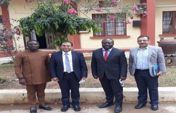 High Commissioner visited Takoradi Technical University on 10 September, 2020