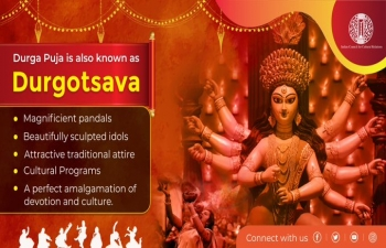 "#ICCRDurgostsav- Global Contest : Theme ""Durga Puja and its Relevance in People's Lives""; organized by Indian Council for Cultural Relations from 18th to 25th October, 2020"