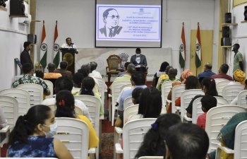 India@75 - Social Justice : Cornerstone of Indian Constitution organized on the birth anniversary of Dr. Bhim Rao Ambedkar