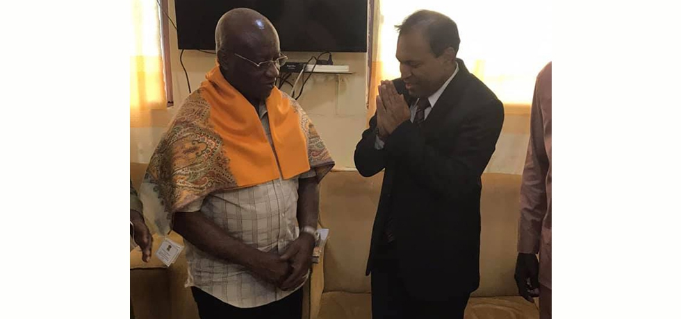 During his visit to Ashanti region, High Commissioner interacts with Mr. Osei Kyei Mensah Bonsu, Parliamentary Affairs Minister & Majority Leader, on issues of cooperation with India