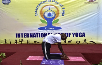 Celebrations of 7th International Day of Yoga